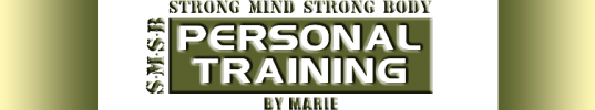 Personal Training By Marie
